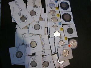 (Mostly) Canadian silver coins. Bulk lot.