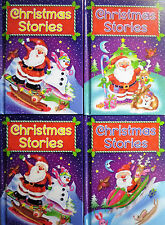 Early Reading Christmas Hardback Story Books 4 to Collect, 3 Stories 94 pages