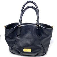Marc by Marc Jacobs Black Q Fran Leather Hobo Shoulder Bag Work Wear No Strap