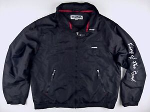 C596 SCANIA Norway KING OF THE ROAD windcheater jacket size XL, excellent cond!