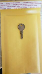 101E-225E key for HON File Cabinet locks.cut to your code, Licensed Locksmith.