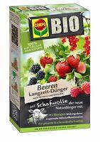 COMPO BIO Beeren Langzeit-Dünger mit Schafwolle, 2 kg