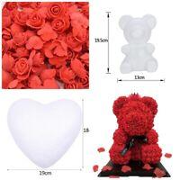 Styrofoam Bear Modelling Rose Bear Polystyrene Foam Mold Valentine's Gift
