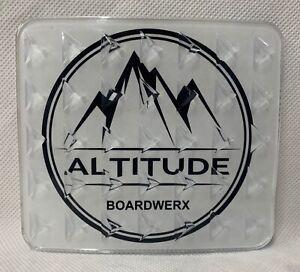 "ALTITUDE BOARDWERX 4"" CLEAR SQUARE SNOWBOARD STOMP PAD *INCLUDES FREE STICKER"