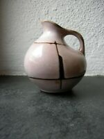 Keramik Vase HALDENSLEBEN 60-er Jahre Modell 4020 - H: 10,2 cm