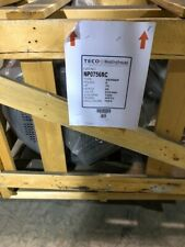 New Np0756rc 75hp Teco Westinghouse 1200 Rpm Tefc Motor 230460v 405tc