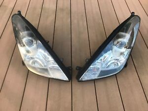JDM 2000 Toyota Celica ZZT231 ZZT230 Halogen Headlights Lights Lamps Set OEM