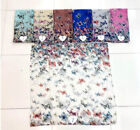 30 large scarf sarongs bulk lot dragonfly Boho retro butterfly floral