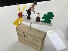 """More details for wind powered miniature wood chopper - whirligig - garden  - mecnov """"chopswell"""""""
