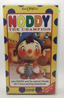 Noddy The Champion. VHS Video Tape Cassette Enid Blyton Vintage Classic TBLO