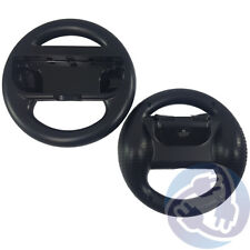 2 pcs Black Steering Wheel for Nintendo Switch Joy-Con Controller