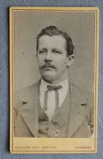 Foto Biedermeier Mobile Foto Herr con cordino, Oldenburg 1870s Anni Foto
