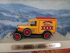 "Matchbox collectibles  1930 FORD MODEL A VAN ""CASTLEMAINE   YGB01  ""Great beers"""