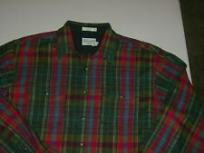 Pendleton 100% Wool BOARD SHIRT L/S MENS XL LONG MULTI COLOR  T6006