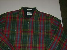 Pendleton 100% Wool BOARD SHIRT L/S MENS XL LONG MULTI COLOR  T6006