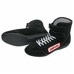 Simpson Race Boot. US size 14 High Top  Shoe