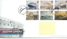WBC. - GB-FIRST DAY COVER-FDC-commems - 2004-transatlantici-PMK TH