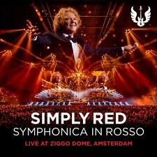 SIMPLY RED SYMPHONICA IN ROSSO CD/DVD - NEW RELEASE NOVEMBER 2018