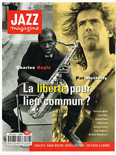 PUBLICITE ADVERTISING 094  1994  CHARLES GAYLE & PAT METHENY  pour JAZZ MAGAZINE