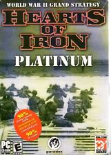 Hearts of Iron: Platinum (PC-CD, 2004) for Windows 98/ME/2000/XP - NEW in BOX
