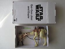Star Wars The Phantom Menace Qui-Gon Jinn Eopie mail away with mailer box