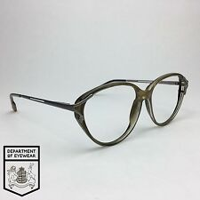 FOSTER GRANT eyeglass AMBER CATS EYE frame Authentic. MOD:31004