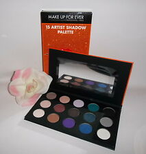 Make Up For Ever 15 Artist Eye Shadow Palette $221 Value Limited Holiday Edition