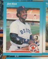 1987 Fleer Baseball - #41 Jim Rice - Boston Red Sox - nrmt/mint