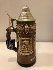 Vintage Original King Lidded Beer Stein Rothenburg O.B.T.