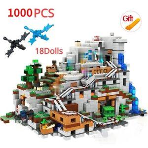 Minecraft Mountain Cave First Adventure Creeper 21137 Building Blocks Kids Toys