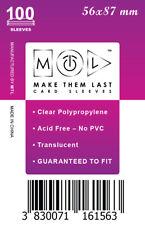 MTL Card Sleeves USA: Size 56x87 100 PCS Bruges, Village, Munchkin, Concept,..