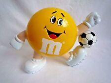 M&M'S YELLOW FOOTBALLER SWEET HOLDER / SWEET DISPENSER