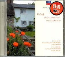Elgar - Enigma Variations & Cello Concerto (Eloquence) - MUSIC CD