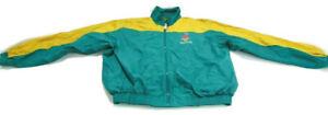 Starter Jacket Green Full Zip 1996 Atlanta Olympic Games Collection Men Size XL
