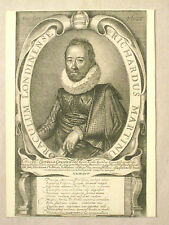 Portrait Engraving of Richard Martin by Simon de Passe