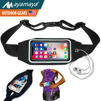 Sports Running Belt Fanny Pack Gym Waist Bag Case For iPhone 8 7 Plus Xs Max XR