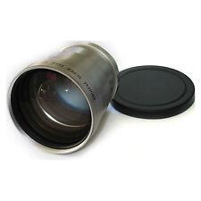 3X/3 TELEPHOTO TELE LENS 25mm For Sony Handycam DCR-HC26,HC28,HC32,HC36,HC46,USA