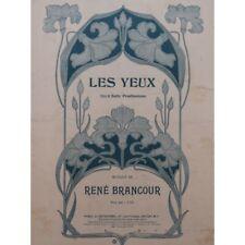 Booth Rene Eye Singer Piano 00004000  1914 Sheet Music Sheet Music Score