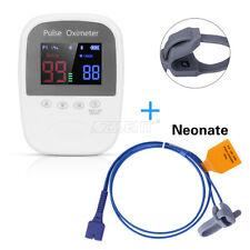 Handheld Bluetooth Finger Pulse Oximeter Monitor BM1000A+Neonate Infant Probe