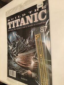 1/250 Hachette Build The Titanic Model Ship Issue 87 Inc Part Pictured.