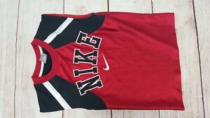 Nike Kids Jersey Black, Red & White Size 5