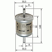 Kraftstofffilter - Bosch 0 450 905 280