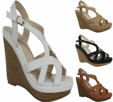 Women's Synthetic Leather Strappy Evening Sandals & Beach Shoes