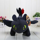 "10"" How to Train Your Dragon Toothless Night Fury Stuffed Animal Plush Toy Doll"