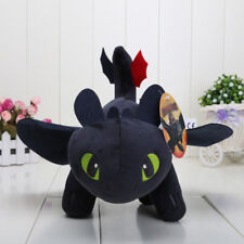 10'' How to Train Your Dragon Toothless Night Fury Stuffed Animal Plush Toy Doll
