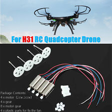 JJRC H31 Motor Gear engine H31 RC Quadcopter Drone spare Parts 4 Motor+4 Gear