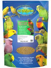 VETAFARM PARADISE PELLETS 10Kg suit Australian Asiatic Parrots Pellet Bird Food
