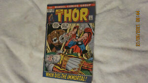 VINTAGE MARVEL COMICS THE MIGHTY THOR #198 APRIL 1972 ODIN IS DEAD VG/FN 5.0