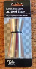 Tala Para Bar De Acero Inoxidable 25/50ml Doble Jigger medida para licores y bebidas