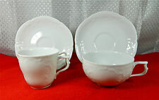 69-PCS (OR LESS) OF ROSENTHAL PAT #10480 SANS SOUCI WHITE SHAPE GERMAN CHINA